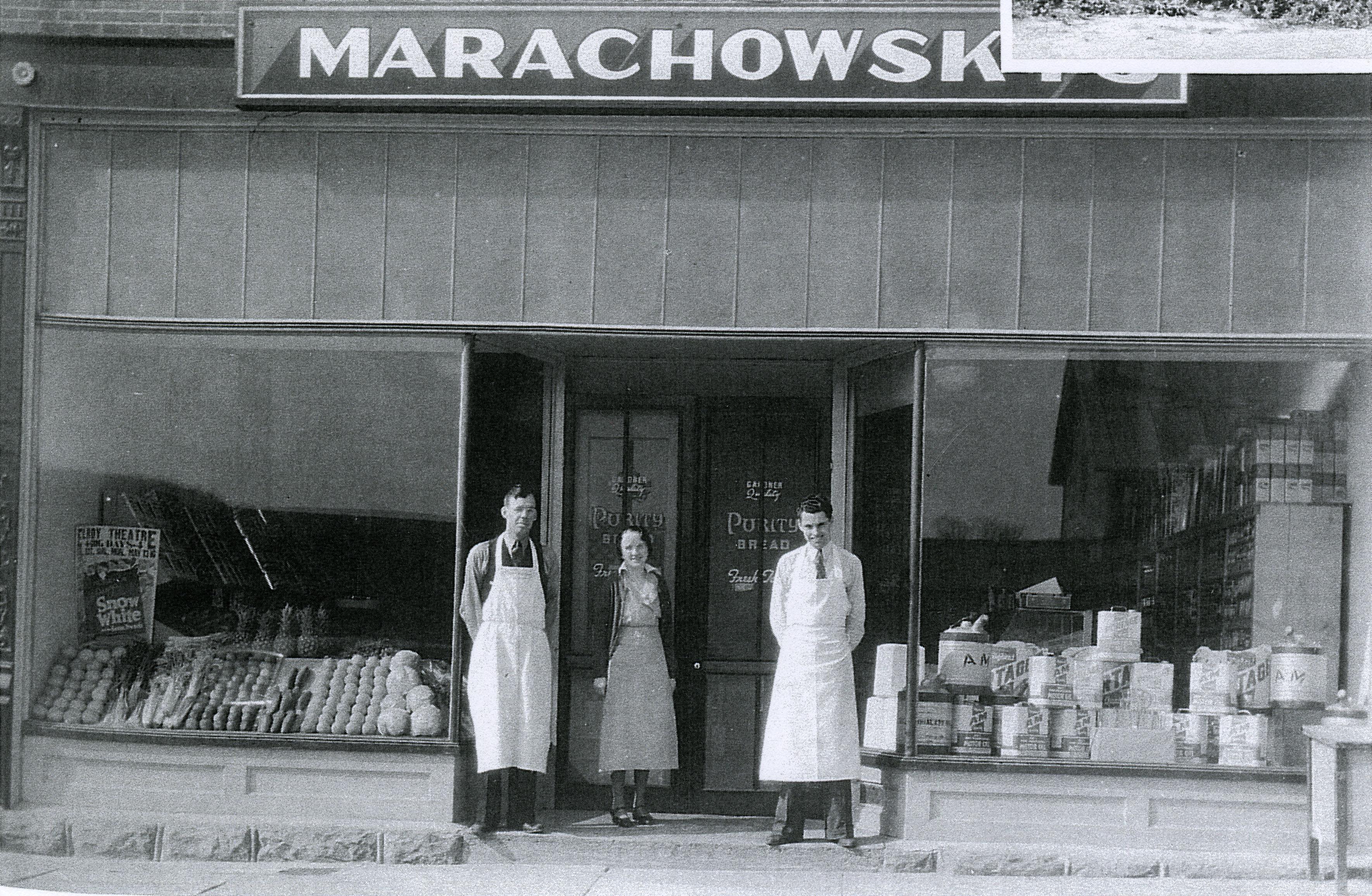 Marachowski's store opening.