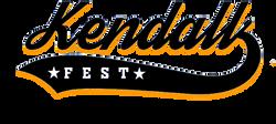 kendall fest logo black