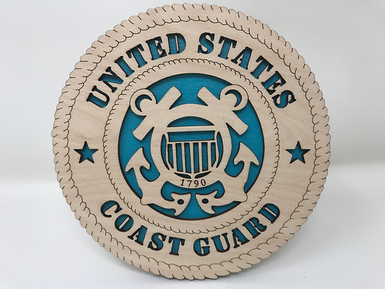 6 inch Desktop Tribute - United States Coast Guard