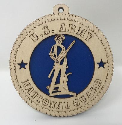 U.S. Army National Guard Ornament