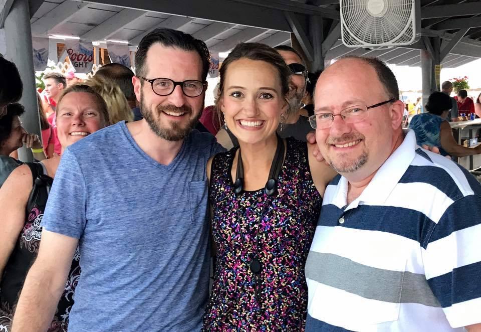 Aaron, Mollie B & Gary Brueggen