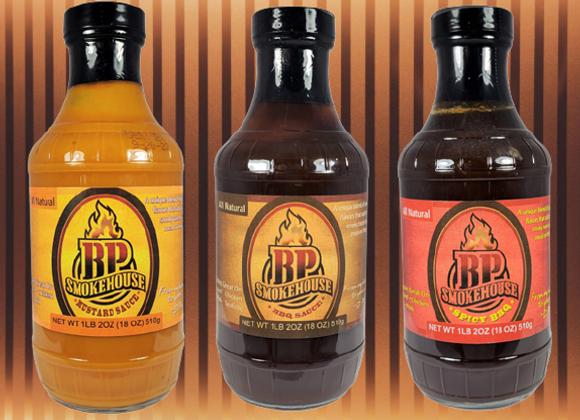BP Smokehouse Sauce 3-Pack