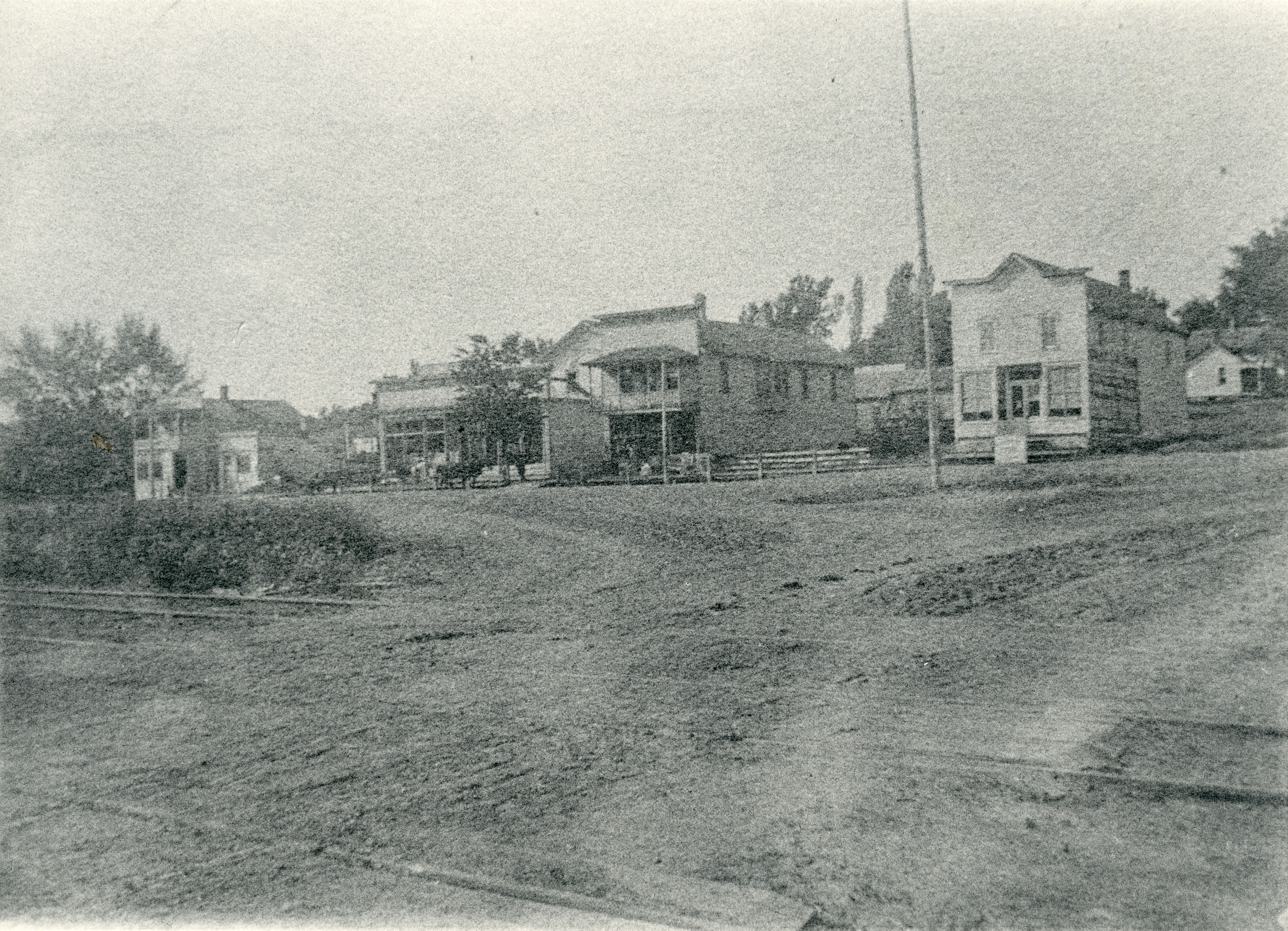 Kendall main street late 1890's