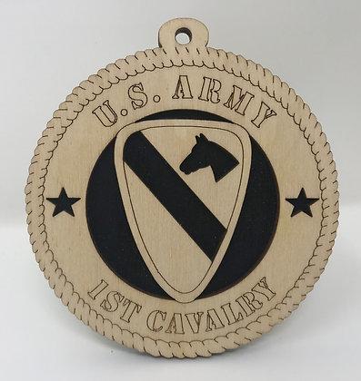 U.S. Army 1st Cavalry Ornament