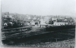 downtown in late 1800s