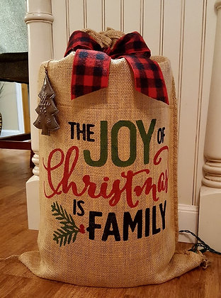 """""""The Joy of Christmas is Family"""""""