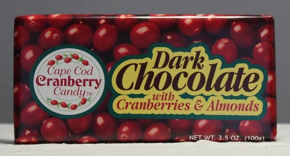 Dark Chocolate with Cranberries & Almonds