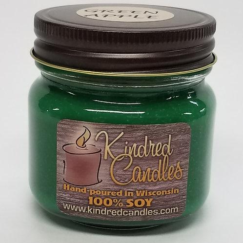 1/2 Pint Soy Jar - Green Apple