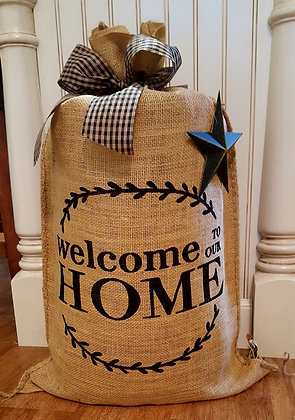 """""""Welcome to Our Home"""""""