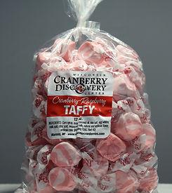 Cranberry Raspberry Taffy