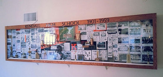 Kendall High Scool display