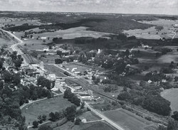 Kendall aerial view. About 1960