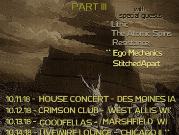 "Announcing ""Fall Of Babel Tour"" Part III"