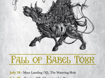 """Announcing """"Fall Of Babel"""" Tour 2017"""