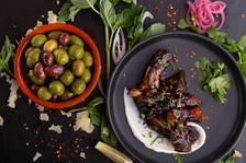 Côtes levées sésame & lime, Olives