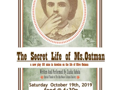 Olive Oatman in Oatman, AZ!