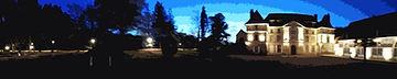 chateau hermival de nuit