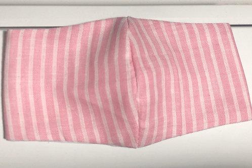 【Pink stripes】For sensitive skin/3D mask filter slot/nosewire options