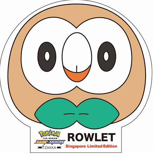 Pokemonマスク(ROWLET)