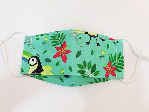 【bird/green】boat type 3D mask for kids