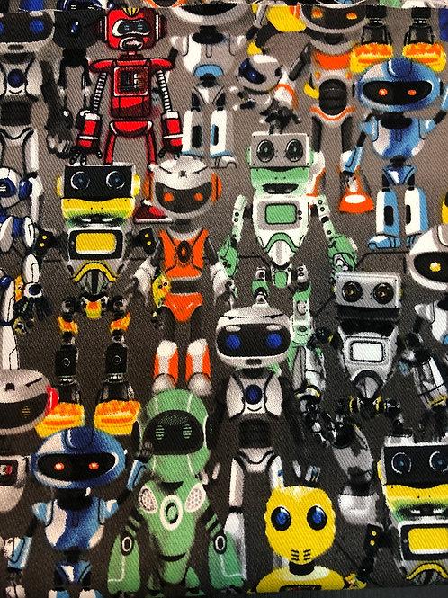 【Robots/grey 】boat type 3D mask for kids