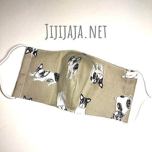 【ぶるちゃん/beige】For sensitive skin/3D mask filter slot/nosewire options