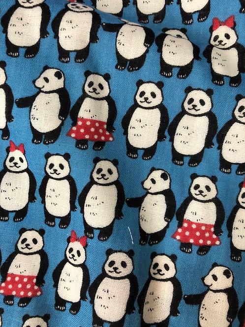 【Blue panda】For sensitive skin/3D Women's mask filter slot/nosewire options