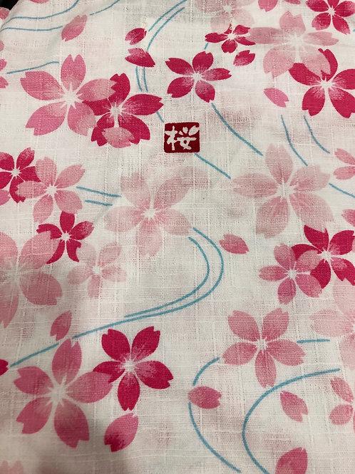 🌸甚平 桜印 ピンク