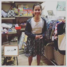 Kids skirt work shop! _次はママへのプレゼントのパンツに挑戦するんだとか。_#holidayprogram #summerschool #drawstring #Knapsack#drawstringbag #jijijaja #workshop #sewi