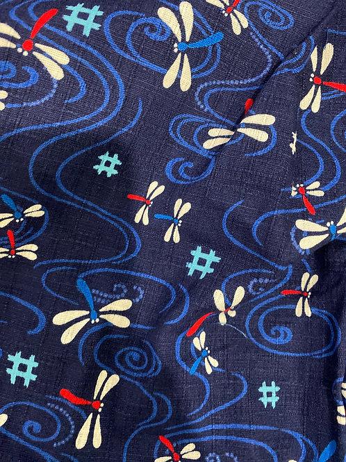 # 蜻蜓 (深蓝)