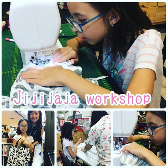 Today's skirt workshop!(o^^o)_10歳の女の子がトー