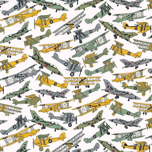 <Liberty  Mask>Liberty Fabric Tana Lawn:Toms Jets Yellow