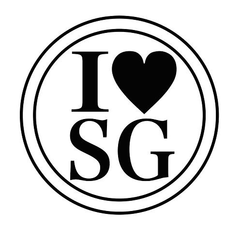 シンガポールスタンプ mini /I♡SG
