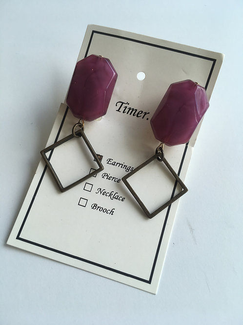 Timer. Earrings