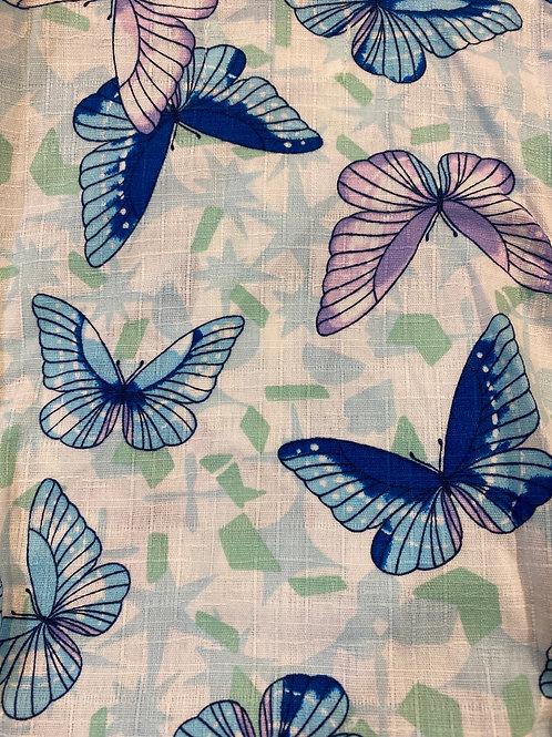 蝴蝶(蓝,紫)
