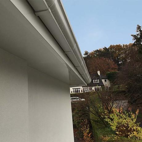 seamless aluminium gutters
