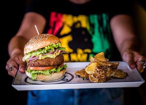 Virgin Veggie Burger