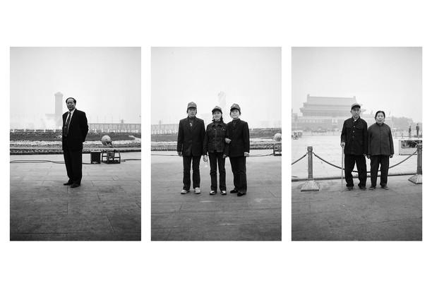 Beijing, Tiananmen Square, 2002
