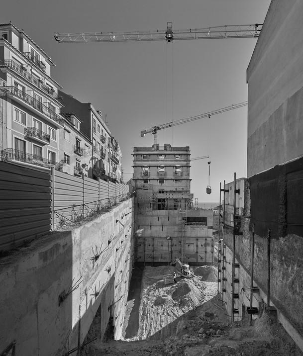 41 Work under construction: Lisbon, 2018 -