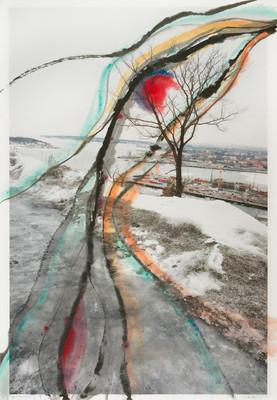 along the road (Scream), I, 2012