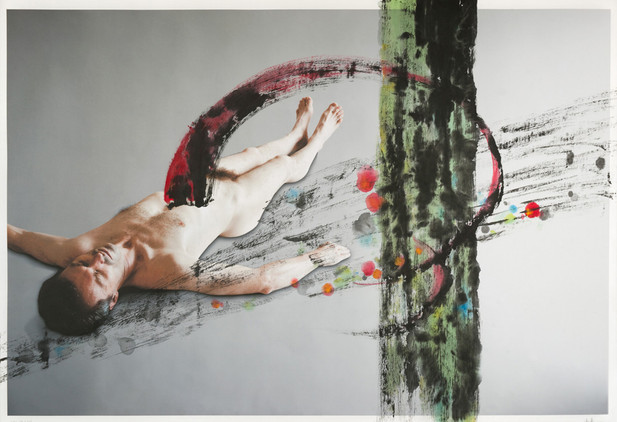 still life (Death of Marat), 2012