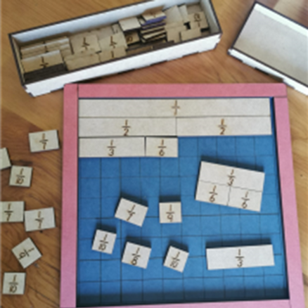 Fraction Board and Bars set