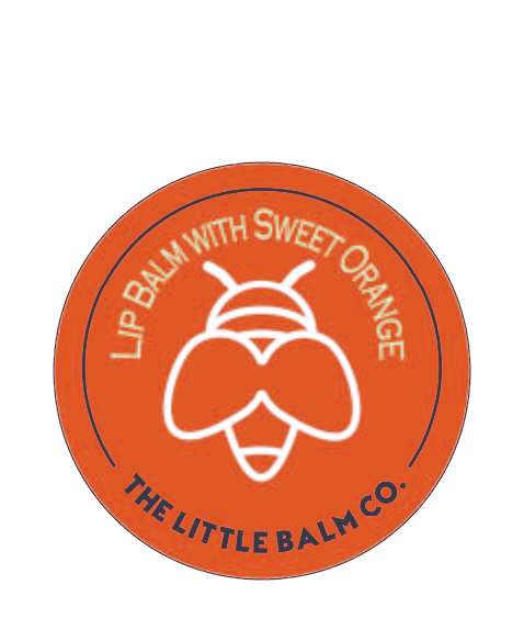 Lip Balm with Sweet Orange                (and a little Rosemary)