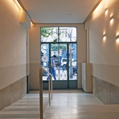 Rehabilitació i restauració portería Barcelona