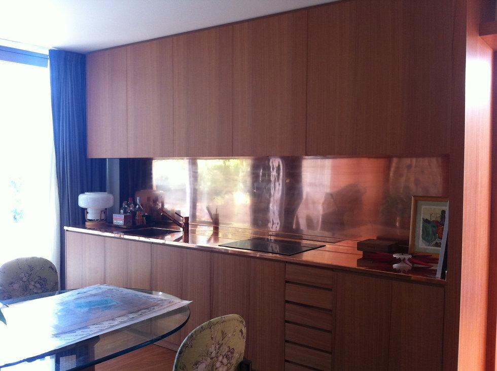 cuina de coure, cocina de cobre