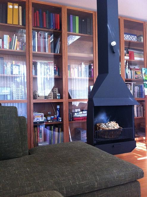 llar de foc Coderch, chimenea Coderch