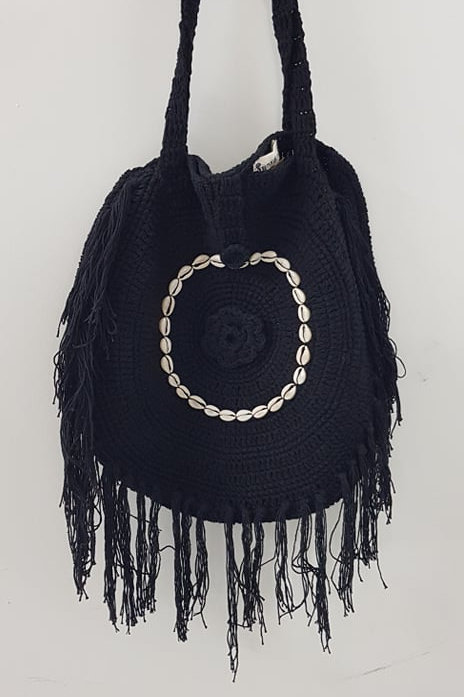 Crochet Tassel Bag