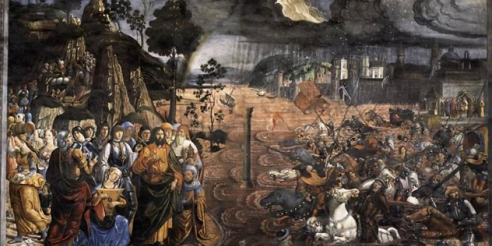 Chariots in Flood,Pillars of Fire