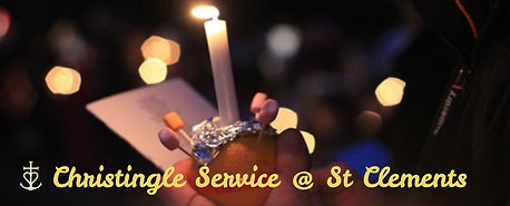 Christingle Service @ St Clements