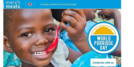 Join us over porridge and find out about the work of Mary's Meals
